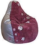 Крісло мішок пуф з вишивкою, фото 8