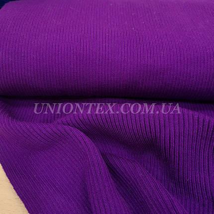 Довяз акрил фиолетовый, ширина 50см, фото 2