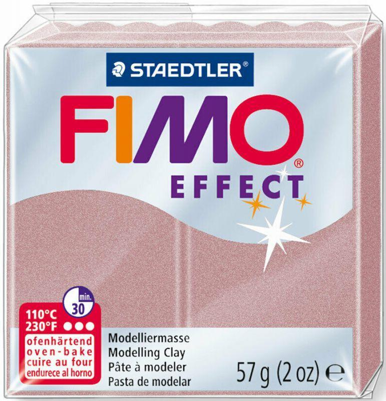 Пластика Effect, Перламутровая роза, 57 г, Fimo