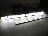 Стробоскоп светодиодный, мощный, в решетку, белый  2-289С  комлект, фото 1