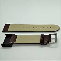 20 мм Кожаный Ремешок для часов CONDOR 669.20.03 Коричневый Ремешок на часы из Натуральной кожи, фото 3