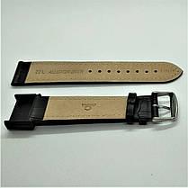 22 мм Кожаный Ремешок для часов CONDOR 308L.22.01 Черный Ремешок на часы из Натуральной кожи удлиненный, фото 3