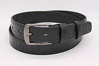 Мужские ремни черного цвета  (35 мм.) № 0335111