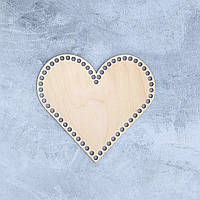 Донышко для корзин,сердце,30*32 см