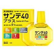 Вікові краплі для очей з вітаміном E, B6 і таурином Sante 40 Plus 12мл (411266)