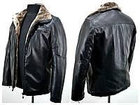 Куртка мужская из искусственной кожи № 252