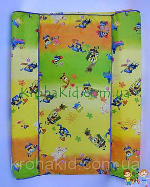 Дитячий пеленатор / пеленальная Дошка / Матрацик для сповивання дитини, фото 2