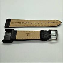 20 мм Кожаный Ремешок для часов CONDOR 307.20.01 Черный Ремешок на часы из Натуральной кожи, фото 3