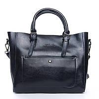 ОСТАЛАСЬ ПОСЛЕДНЯЯ! Женская сумка из натуральной кожи синего цвета классика, фото 1