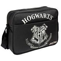 Школьная сумка через плечо Гарри Поттер с эмблемой Хогвартс - унисекс