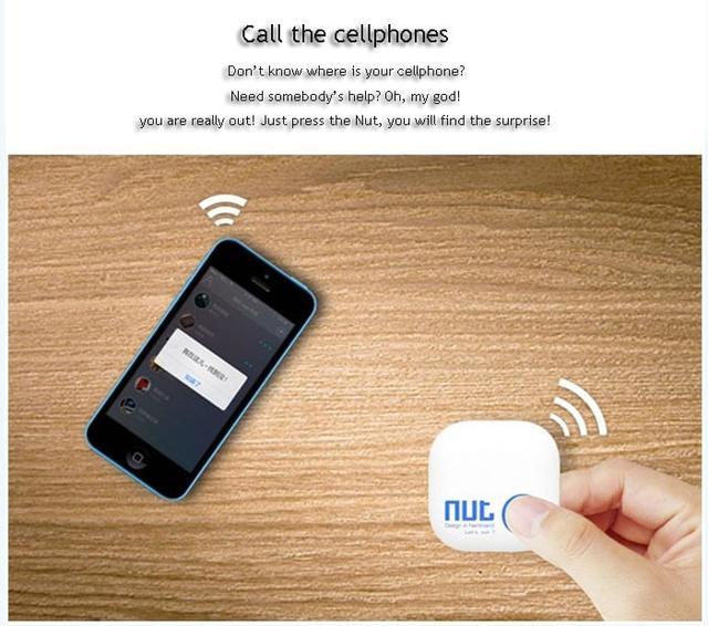 Поисковый брелок Nut 2 Smart Bluetooth 4.0 GPS Tracker