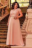 Платье в пол вечернее батал, фото 6
