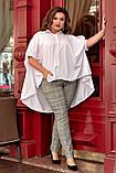 Блуза женская батал, фото 4