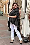 Блуза женская батал, фото 2