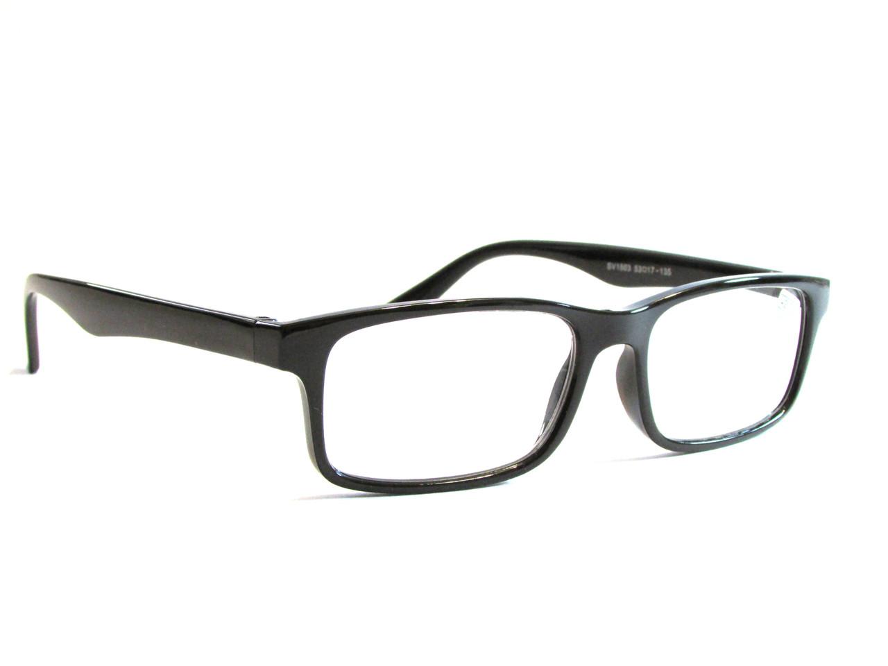 Очки в пластиковой  оправе