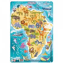 Пазл з рамкою Африка