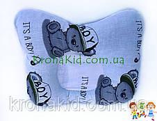 """Дитячий кокон / гніздечко / позиціонер """"Тедді"""" для новонароджених з ортопедичною подушкою, фото 2"""
