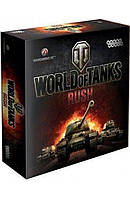 Настольна игра World of Tanks Rush Подарочное издание 10+ 2-6 игроков 30-60 мин