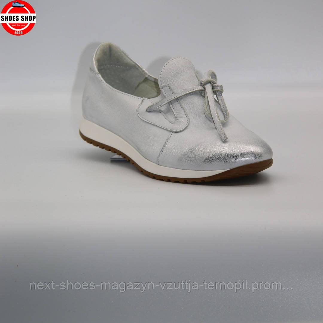 Жіночі туфлі Caroline (Польща) білого кольору. Красиві та комфортні. Стиль: Джессіка Альба