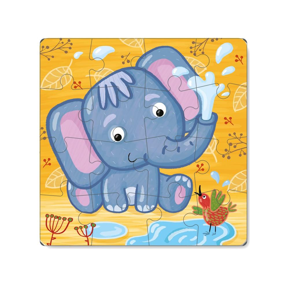 Пазл Слоненя