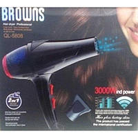 Фен для волос Browns BS-5808 3000W c ионизацией