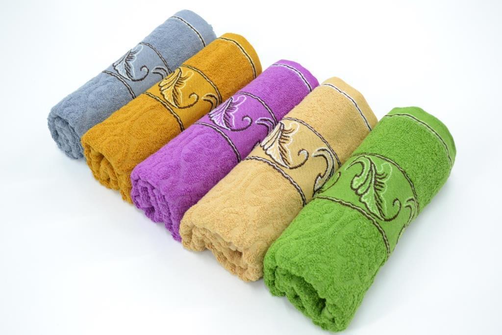Не дорогие махровые полотенце 50*100, фото 1