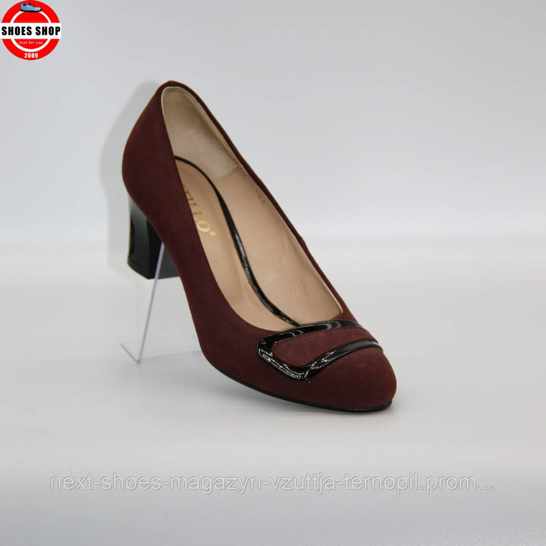 Жіночі туфлі STILLO (Польща) червоного кольору. Красиві та комфортні. Стиль: Mariya Sharapova