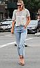 Жіночі туфлі STILLO (Польща) сірого кольору. Красиві та комфортні. Стиль: Dasha Sharapova, фото 6