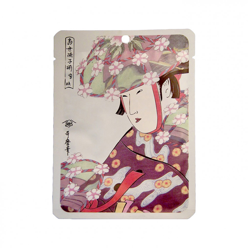 "Маска для лица Mitomo ""Алоэ+Экстракт Цветков Сакуры"" 25 г (531031)"