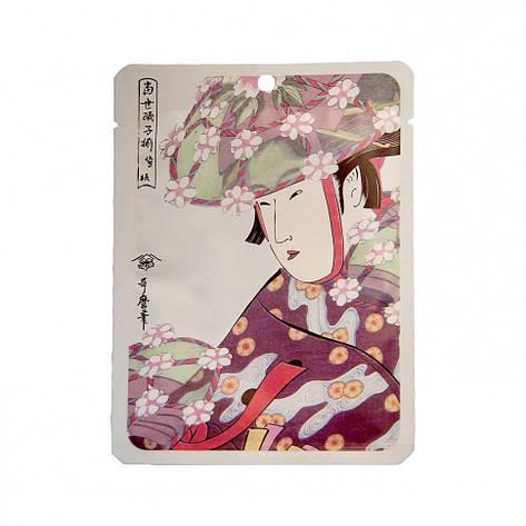 """Маска для лица Mitomo """"Алоэ+Экстракт Цветков Сакуры"""" 25 г (531031), фото 2"""