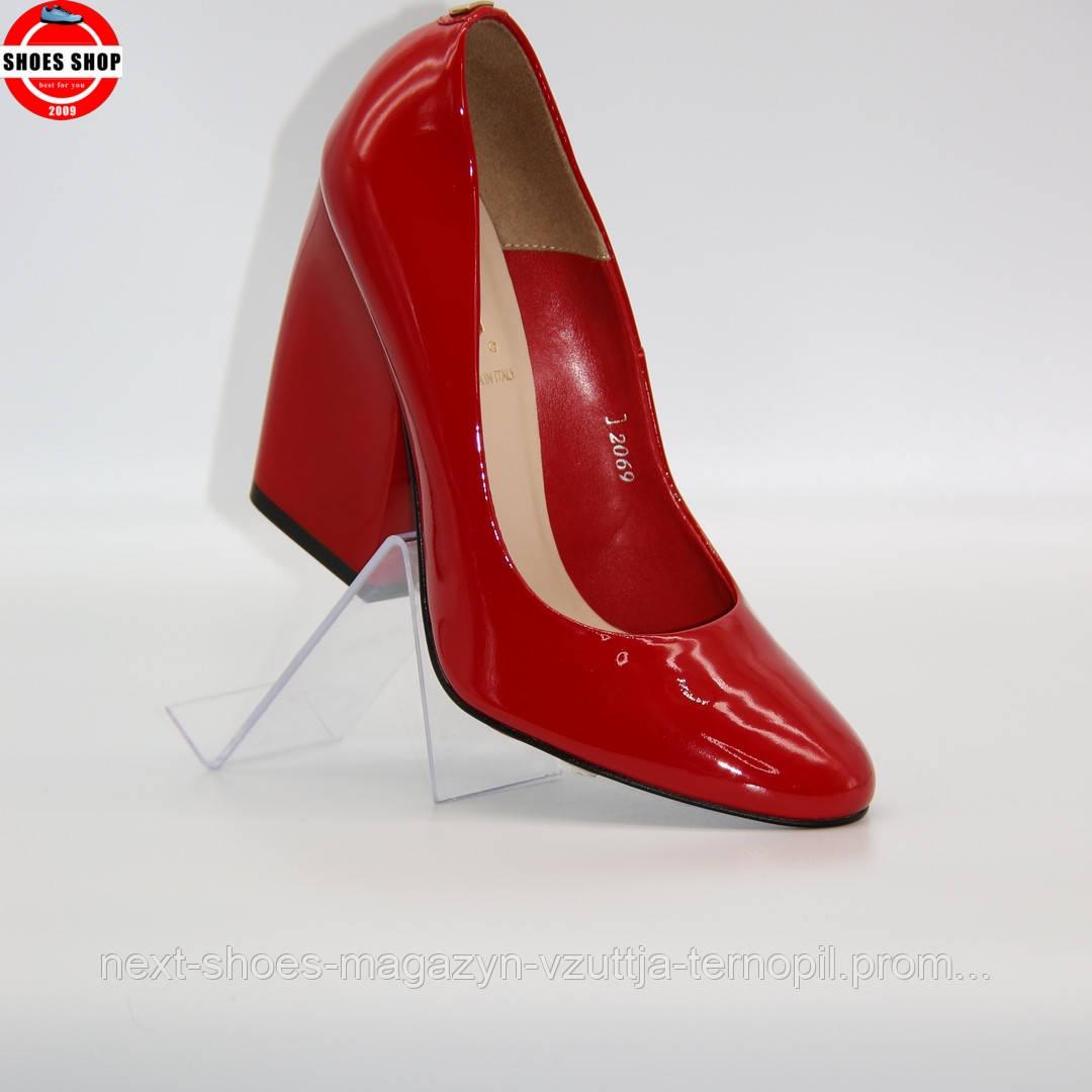 Жіночі туфлі Sala (Польща) червоного кольору. Дуже гарні та комфортні. Стиль: Елісон Брі
