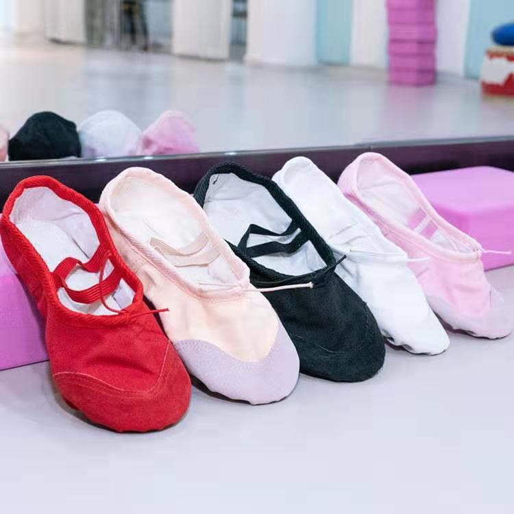 Балетки спортивные для танцев и гимнастики