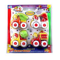Набор детских машинок Стройтехника 5555 В