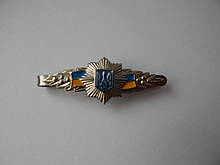 Зажим для галстука МВД (серебристый)