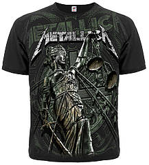 """Футболка Metallica """"And Justice For All"""" (graphite t-shirt), Размер S"""