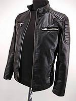 Мужские строгие куртки из эко кожи 5809