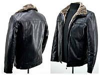 Зимние мужские куртки из кож зама  226