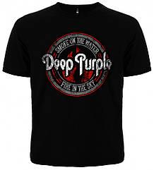 """Футболка Deep Purple """"Smoke on the Water"""", Размер S"""