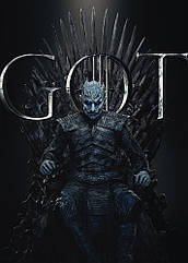 "Плакат Game of Thrones ""Night King"""