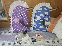 Іграшка-подушка єдиноріг. 100% бавовна., фото 7