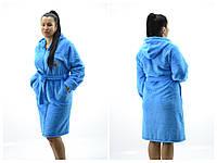 Женские банные халаты махра SOFT, фото 1