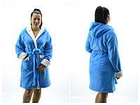 """Банный женский халат """"Софт"""" размер XL 50-52"""
