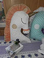 Іграшка-подушка єдиноріг. 100% бавовна., фото 8