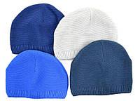 Не дорогие однотонные мужские шапки