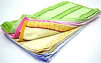 Набор цветных полотенец на кухню 25*50 см.