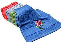 Банные полотенца с вышивкой 80*140 см.