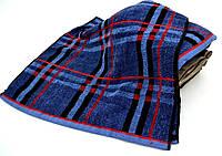 Полотенце банное, мужские цвета 80*140