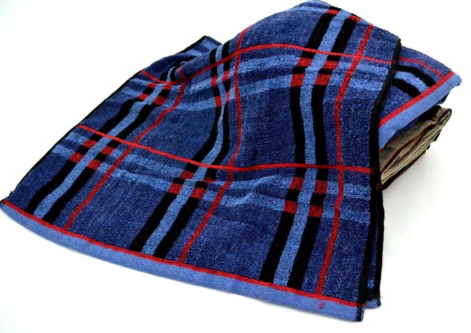 Полотенце банные мужские цвета 80*140 , фото 1