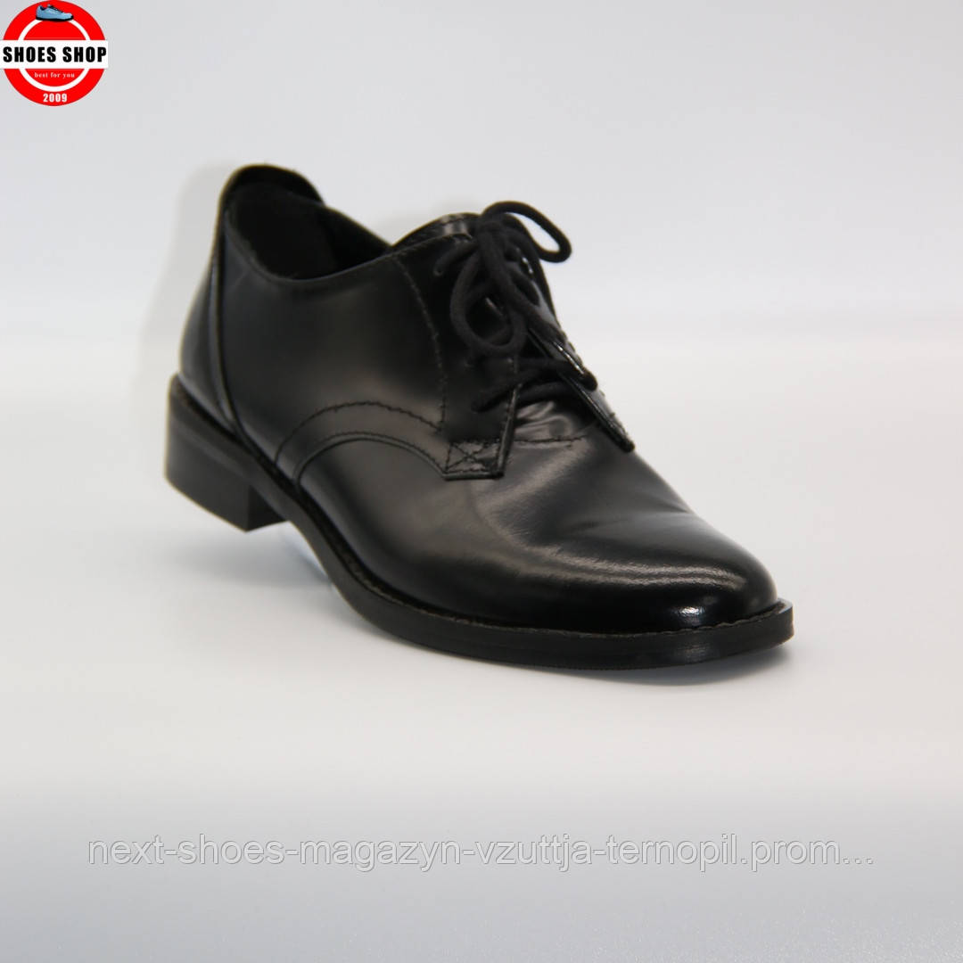 Жіночі туфлі Nessi (Польща) чорного кольору. Красиві та зручні. Стиль: Дрю Беррімор