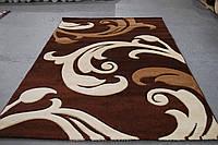 Ковёр Legenda 0313 brown (синтетический)  1,5 * 2,3, Прямоугольная